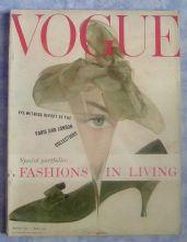Vogue Magazine - 1958 - March